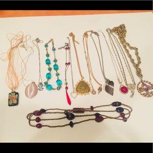 Vintage lot of necklaces